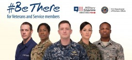 Join Veterans Affairs #BeThere Campaign during Suicide Prevention Month in September
