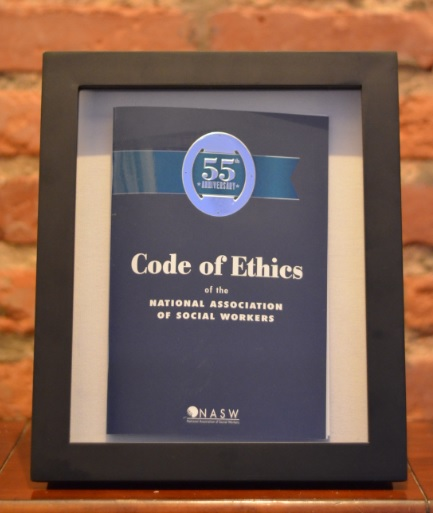 the winner of the nasw code of ethics th anniversary essay  codeofethicscommemorative