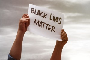 Black lives matter, fight against racism