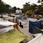 Displaced Person Camp in Haiti