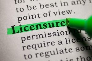 licensure