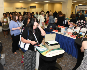 NASW Press Booth at the 2018 NASW National Conference.