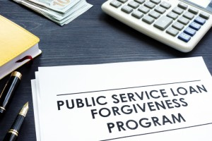 Public Service Loan Forgiveness PSLF Program documents.