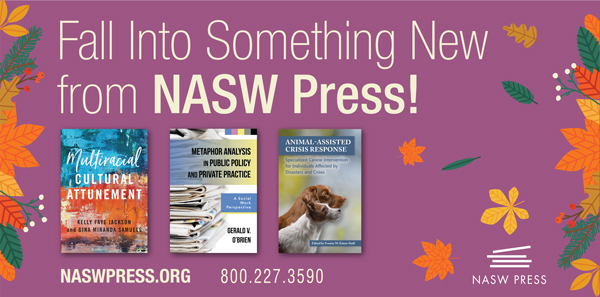 Fall Into Something New From NASW Press!