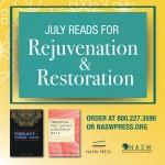 July Reads for Rejuvenation and Restoration