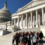 Social Work HEALS Scholars At U.S. Capitol Building 2019