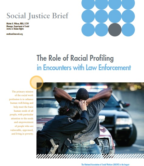 NASW Social Justice Brief offers Recommendations to End Racial ...