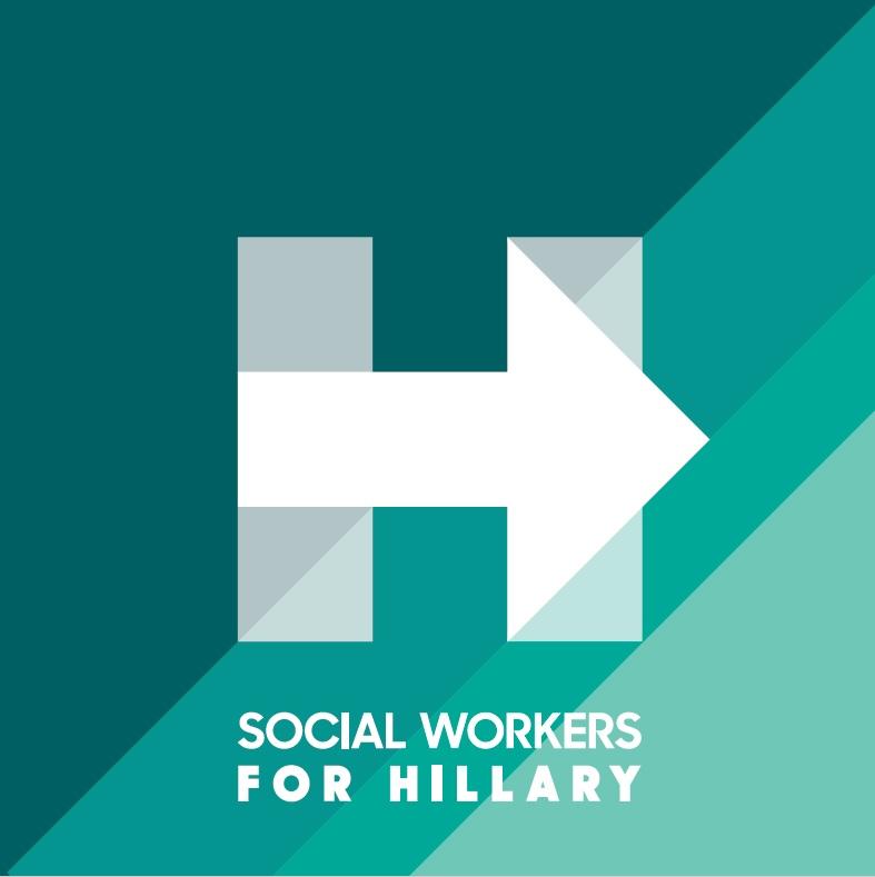 socialworkersforhillarylogo