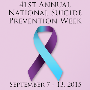SuicidePreventionWeek