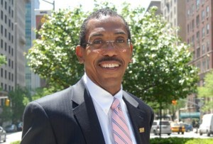 NASW President-elect Darrell Wheeler, PhD, MPH, ACSW. Photo courtesy of Loyola University.
