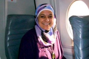 Rose Hamid, a flight attendant for US Airways, has spoken about the negative reaction she gets when wearing her hijab at work. Photo courtesy of Worldhum.com.