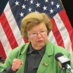 Sen. Barbara Mikulski (D-Md.)