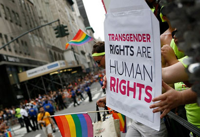 Image result for Trans people protesting